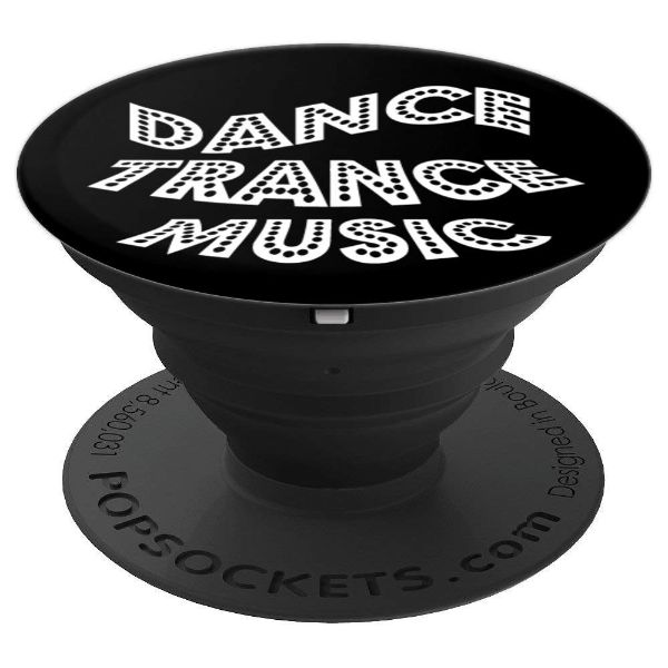 Dance Trance Music - dance - PopSockets Grip and Stand for Phones and Tablets