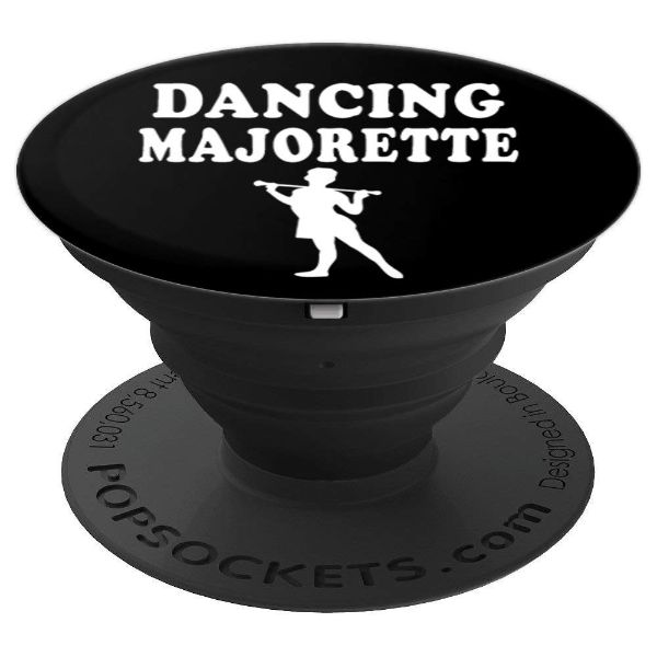 Dancing Majorette baton twirler majorette - PopSockets Grip and Stand for Phones and Tablets