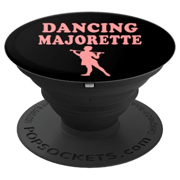 Dancing Majorette - baton twirler majorette - PopSockets Grip and Stand for Phones and Tablets