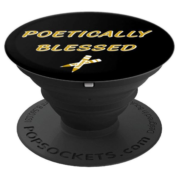 Poetically Blessed Poetry Lyrics - PopSockets Grip and Stand for Phones and Tablets