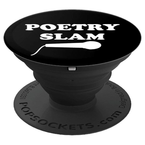 Poetry Slam Microphone-poetry - PopSockets Grip and Stand for Phones and Tablets