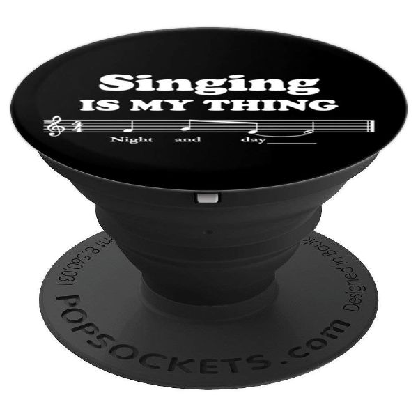 Singing Is My Thing - Singer - PopSockets Grip and Stand for Phones and Tablets