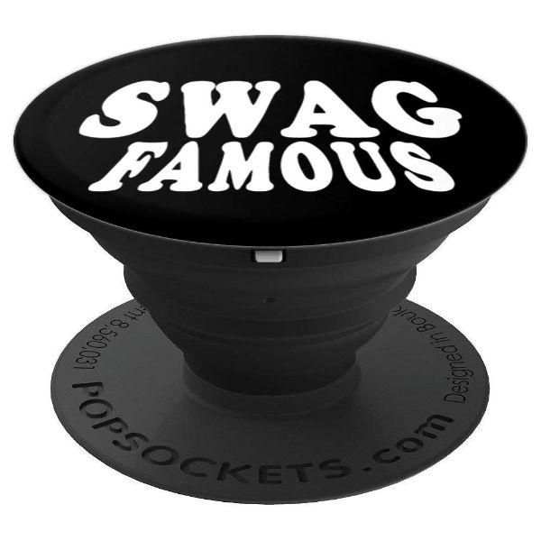 Swag Famous- Swag hip hop Rap - PopSockets Grip and Stand for Phones and Tablets