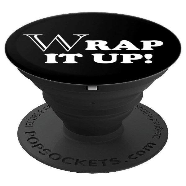 Wrap It Up! - Rap Poetry - PopSockets Grip and Stand for Phones and Tablets